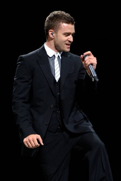 Justin Timberlake in Concert at the Datch Forum in Milan on June 1, 2007