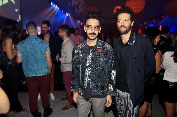 Fabio Gurjao e Edu Chalab